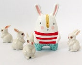 Miniature art doll- Bunny from Mars