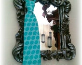 Little Guy Ties - What A Hoot Turquoise ... Infant thru 12 yrs...Necktie  Polka Dot   Teal  Aqua Brown  Grey  Pink  Coral  Yellow  Green