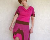 SALE - meerwiibli eco-friendly bamboo jersey drip dress - last one - Large is in stock