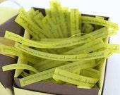 99 reasons for living - green - handmade inspirational poetry gift
