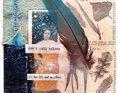 Don't Fall Asleep - Art and Inspiration Greeting Card