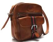 Big Brown Bag - Vintage Holdall