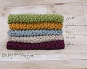 chunky mini-blanket - choose your colour - newborn photography prop