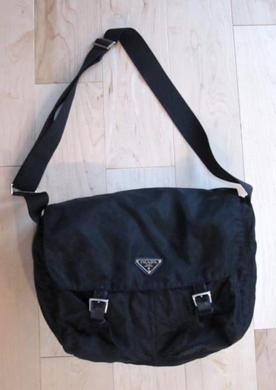 b7acd9b37213 Vintage Black Nylon Prada Bag | Stanford Center for Opportunity ...