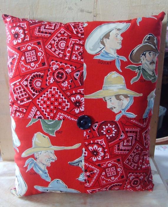 Sweet Cowboy Dreams Decorative Pillow