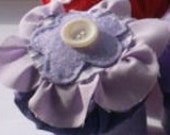 Purple Flower Pin Cushion