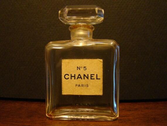 Vintage Chanel No 5 Mini Perfume Bottle