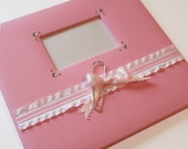 Baby Girl Scrapbook (12x12 premade scrapbook with 20 scrapped pages and embellished cover)
