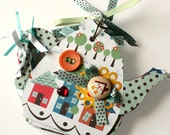 Teapot Chipboard Album