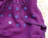 Wool interlock diaper cover, custom image