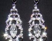 Hidden Heart chandelier earrings