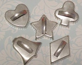 Set of 5 Vintage Christmas Cookie Cutters