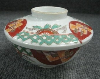 Antique Japanese Lided Bowl