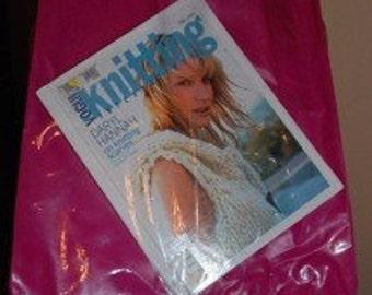 See-Through Hot Pink Tote Bag
