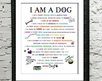 Through The Eyes of A Dog / From My Furry Perspective / I AM A DOG 8 x 10 Print ALL proceeds will go towards my local humane shelter