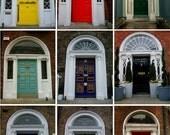 Photography Print of Georgian Doors of Ireland