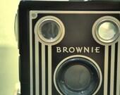 Camera Photo Print of Vintage Brownie Camera