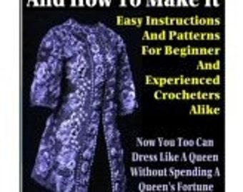 Set of Five PDF eBooks on Crocheting and Knitting