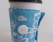 Eco Friendly Coffee Cup Sleeve in Blue