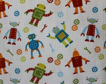 Robots Factory from Robert Kaufman (Yardage Available)