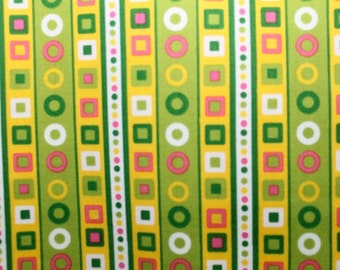 Cotton Print in Lime Green (Yardage Available)