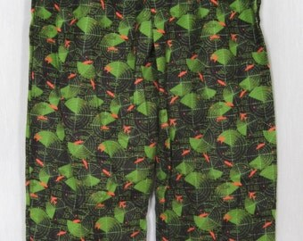 Black and Green Radar PJ pants