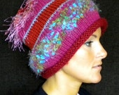 Brighten Your Winter with Art Hat RD002