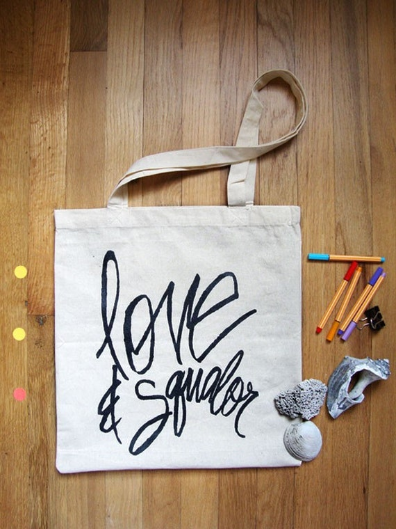 Ode to JD Salinger / Love and Squalor Tote Bag