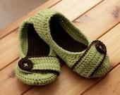 Custom Ballet Flat Slippers - Made to Order, Women's Sizes 5-10