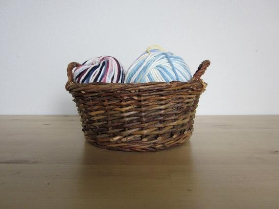 Little Rustic Wicker Basket