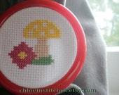 Funky Mushroom cross stitch