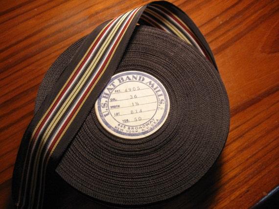 Vintage Roll USA  Hatband