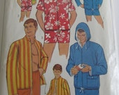 Swim Trunks and Jacket for Men and Boys Sewing Pattern