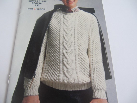 Coats and Clark Classic Women Sweatering Patterns