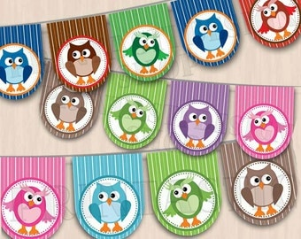 OWL Printable Party Banner