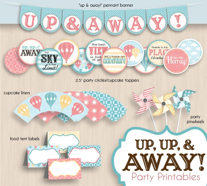 Hot Air Balloon Baby Shower Invitations as luxury invitations design