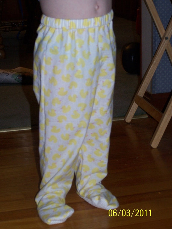 2t 3t Footed Footie Pajamas Pants