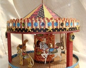 Circus Carousel Center Piece