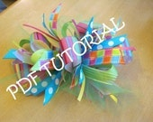 How to make Loopy Bows- PDF eBook by Nellie Bugs