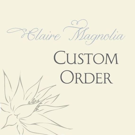 Custom Listing for Tyler