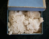 custom reserved little alencon french antique lace appliques