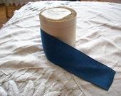 "3 yds. of Vintage grosgrain ribbon copen blue  , more avail., 2"""