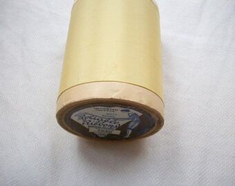 1 yd. of this Stunning pale golden butter taffeta ribbon 3 3/4""