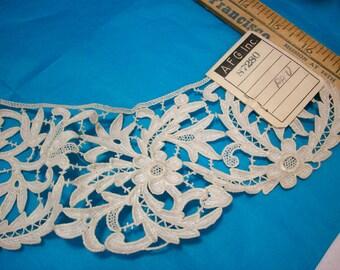 1 Antique lace salesman's sample circular