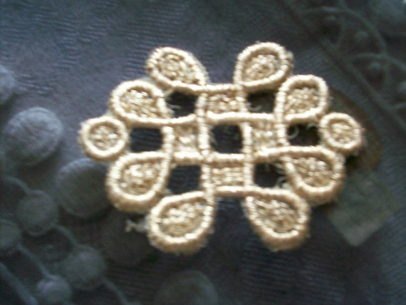 Lame  applique of the 1920s