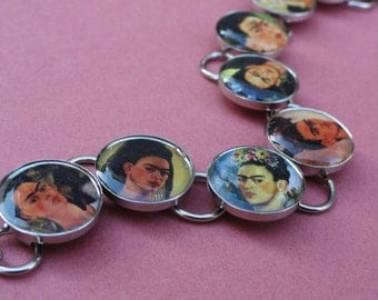 Frida Kahlo Self Portrait Bracelet