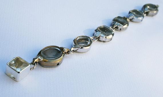 Up-cycled Vintage Ladies Watch Case Bracelet