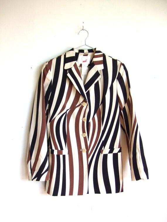 MOVING SALE////vintage 1980s MONDI graphic blazer