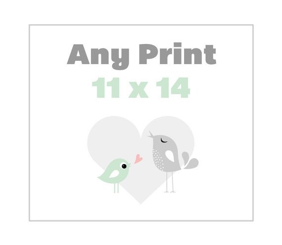 Any 11 x 14 Poster from the Shop