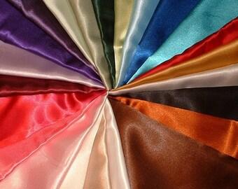 Pair Of Super Soft Satin Pillowcases Standard By Sewcalledlife
